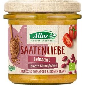 Allos Saatenliebe Leinsaat Tomate Kidneybohne bio