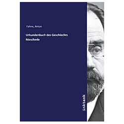 Urkundenbuch des Geschlechts Meschede. Anton Fahne  - Buch