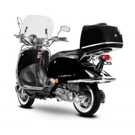 Burnout EasyCruiser Chrom 125 ccm 7,5 PS 80 km/h  schwarz