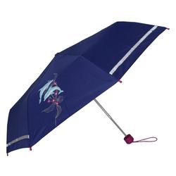 Scout Taschenregenschirm blau