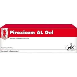 PIROXICAM AL Gel 50 g