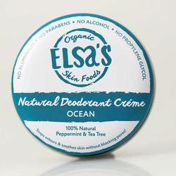 Elsa's Organic Skin Foods - Deodorant Creme - Ocean