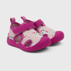 Baby Boys' Ro+Me by Robeez Rubber Unicorn Shoes 12-18M, Pink