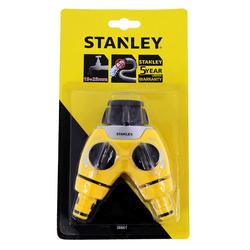 Stanley Gartenschlauch Verteiler mit 2 Wege Ventilanschluss