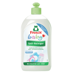 Frosch Baby Spül-Reiniger, Speziell für Babygeschirr und Spielzeug, 500 ml - Flasche