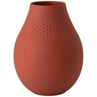 Villeroy & Boch Manufacture Collier Terre Vase Perle hoch 16x16x20 cm Manufacture Collier 1016855513