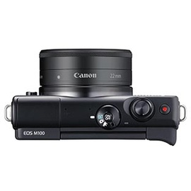 Canon EOS M100 schwarz + EF-M 15-45mm IS STM