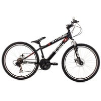 KS-CYCLING Dirrt 26 Zoll RH 34 cm schwarz