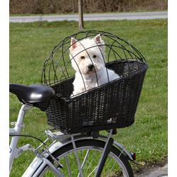 Trixie Hunde-Fahrradkorb, B/T/H: 35/55/49 cm, bis zu 12 kg schwarz