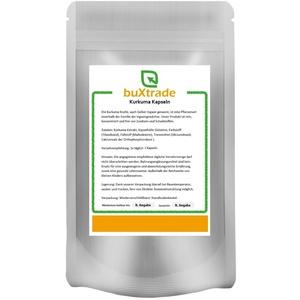 2x 1kg | Kurkuma Kapseln | Kurkuma Extrakt | Caps | Curcuma | ca. 2750 Stk.
