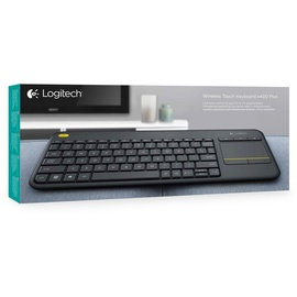 Logitech K400 Plus Wireless Touch Keyboard DE schwarz (920-007127)