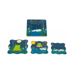Small Foot Puzzle Schichtenpuzzle Froschkönig, 28 Puzzleteile