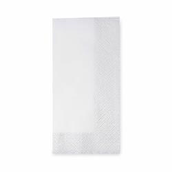 Servietten 33 x 33 cm 1/8 -Falz, 3-lagig weiß, 250 Stk.
