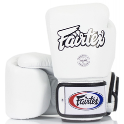 FAIRTEX BGV1 Boxhandschuhe weiß (Größe: 16 Oz)