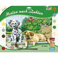 MAMMUT Spiel und Geschenk Malen nach Zahlen Tierkinder im