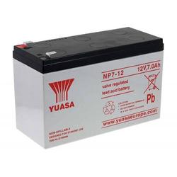 YUASA Ersatzakku für Rollstühle Elektrofahrzeuge Elektro-Scooter Kinderfahrzeuge 12V 7Ah, 12V, Lead-Acid