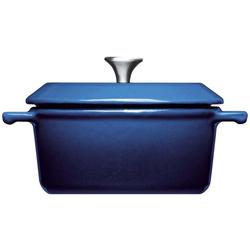 WOLL Kasserolle Iron, Gusseisen, (1 tlg.), Ø 10 cm, Induktion blau Kasserollen Töpfe Haushaltswaren