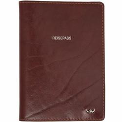 Golden Head Colorado ReiseEtui na paszport 10 cm skórzana tabacco