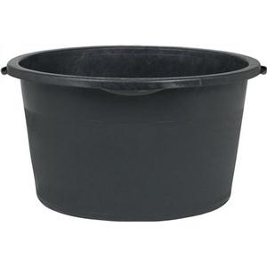 Mörtelkübel 90 L 700x360 mm rund schwarz
