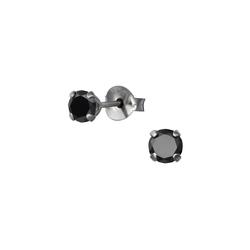 Monkimau Paar Ohrstecker Kristall Ohrringe 925 Silber Damen Ohrstecker (2 x Ohrstecker (1 Paar), mit Kristallen