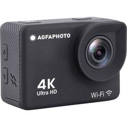 AgfaPhoto Action Cam Action Cam 4K, Wasserfest, WLAN, Zeitlupe/Zeitraffer