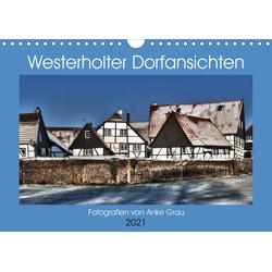 Westerholter Dorfansichten (Wandkalender 2021 DIN A4 quer)