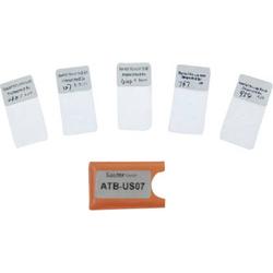 Sauter ATB-US07 Justierfolien für erhöhte Messgenauigkeit für Digitales Schichtdickenmessgerät