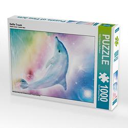 Delfin Traum Lege-Größe 48 x 64 cm Foto-Puzzle Bild von Dolphins DreamDesign Puzzle