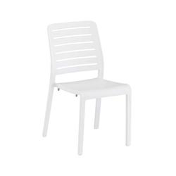 Kettler Link Stapelstuhl Kunststoff Weiß