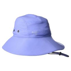 Arcteryx Sonnenhut ARCTERYX Sinsola Sonnenhut modischer Damen Hut mir Krempe und Zugband Kopfbedeckung Lila-Blau S/M