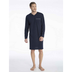 seidensticker Nachthemd Nachthemd, V-Ausschnitt 60 = 4XL