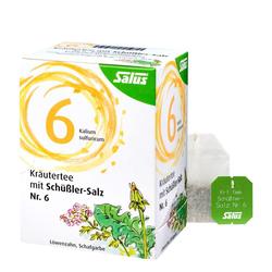 Salus Kräutertee mit Schüssler-Salz Nr. 6