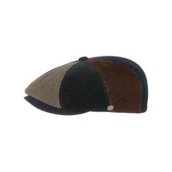 Lierys Flat Cap (1-St) Cordcap mit Schirm 61 cm