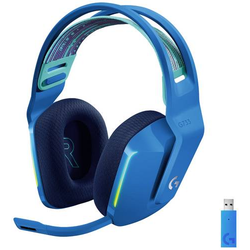 Logitech Gaming G733 LIGHTSPEED Gaming Headset 2.4GHz Funk schnurlos, Stereo On Ear Blau