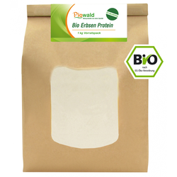 BIO Erbsenprotein - 1 kg Pulver aus EU-Herstellung
