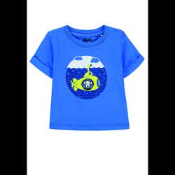 KANZ Boys T-Shirt, palace blue/blue