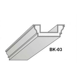 BK-03 Deckenbalken aus Styropor Balkenverkleidung Verkleidung Kassettendecken Balken 300cm