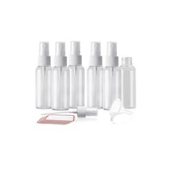 Sayano Sprühflasche 6 x Sprayflaschen zum Befüllen (100ml, Kunststoff)