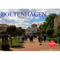 Boltenhagen 2021 (Wandkalender 2021 DIN A3 quer)