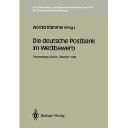 Die deutsche Postbank im Wettbewerb als Buch von