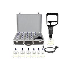 pulox Vakuum-Messager Schröpfgläser Koffer Set 19 St. Schröpfen mit