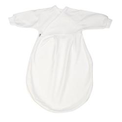 Alvi® Babyschlafsack Alvi Baby Mäxchen Schlafsack Innensack Größe 74 weiss