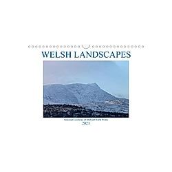 Welsh Landscapes (Wall Calendar 2021 DIN A4 Landscape)