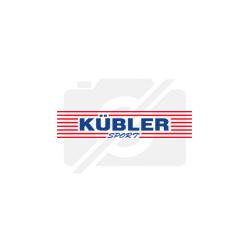 Kübler Sport® Staffelstab aus Aluminium, 3,8 cm, 8er-Set
