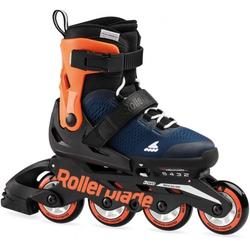 ROLLERBLADE MICROBLADE Inline Skate 2021 midnight blue/warm orange - 33-36,5