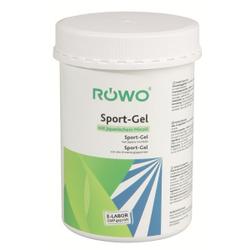 RÖWO® Sport-Gel, entzündungshemmend, lindert Schmerzen, 1000 ml - Dose inklusive Pumpspender
