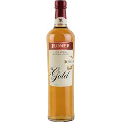 Roner Grappa d Oro La Gold weich und edel aus Südtirol Italien 700ml