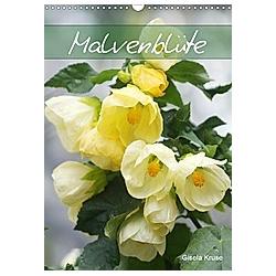 Malvenblüte (Wandkalender 2021 DIN A3 hoch)
