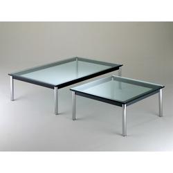 Cassina Cassina Tisch LC10-P schwarz, Designer Le Corbusier, 33x70x70 cm