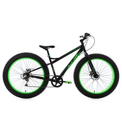 Mountainbike MTB Fatbike SNW2458 Mountainbikes Rahmenhöhe: 43 cm schwarz Gr. 26